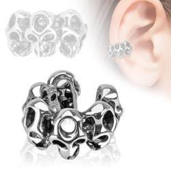 Faux piercing d'oreille anneau avec des têtes de mort Nad Faux piercing4,60€