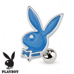 Piercing oreille tragus playboy bleu Fyma TRA064