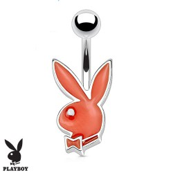 Piercing nombril bunny playboy rouge Kaxa NOM545