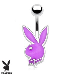 Piercing nombril bunny playboy violet Kayo