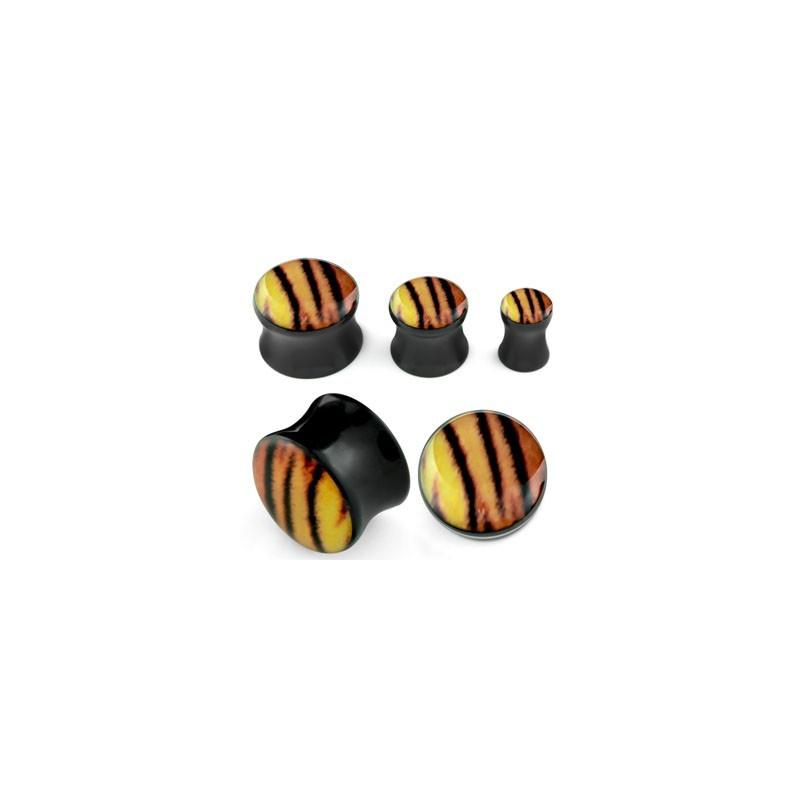 Piercing plug tigré 6mm Kasan Piercing oreille4,49€