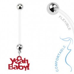 Piercing nombril grossesse Yeah Baby Byg NOM014