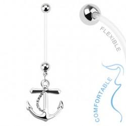 Piercing nombril grossesse avec une ancre Boky Piercing nombril6,49€