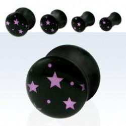Piercing plug étoiles 4mm Kittik