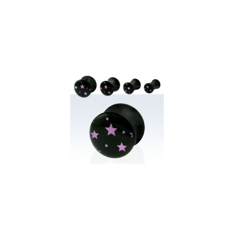 Piercing plug étoiles 4mm Kitik Piercing oreille3,99€