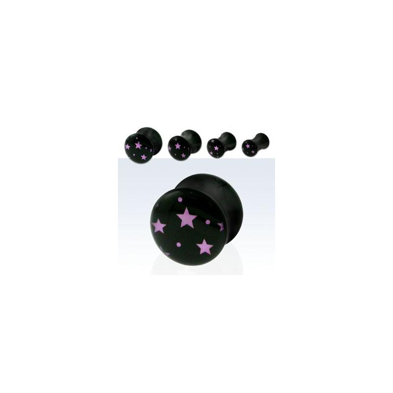 Piercing plug étoiles 5mm Tichai Piercing oreille3,99€