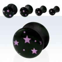 Piercing plug étoiles 12mm Malat Piercing oreille4,99€