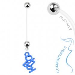 Piercing nombril grossesse bleu Oh Boy Butz Piercing nombril5,99€