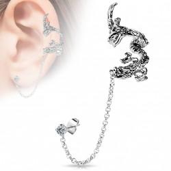 Faux anneau d'oreille dragon Vera FAU287