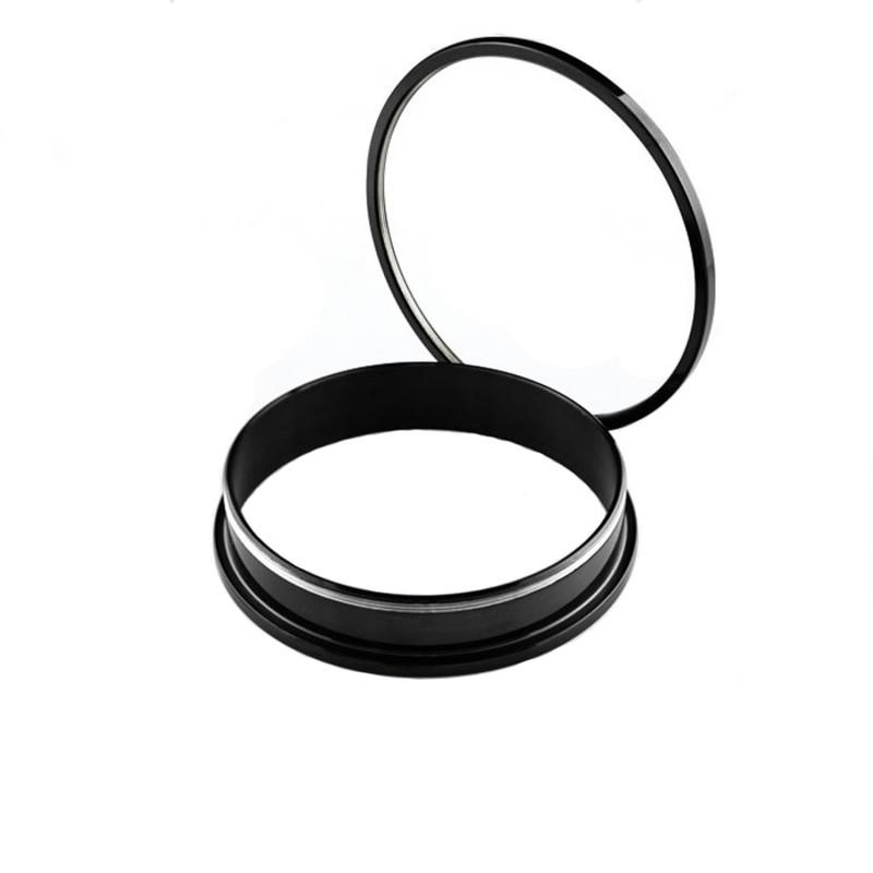 Piercing tunnel 35mm écarteur acier noir Kazu Piercing oreille12,90€