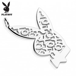 Pendentif acier stainless stell Playboy Hop
