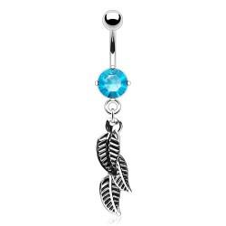 Piercing nombril avec capteur de rêve bleu Piercing nombril6,80€