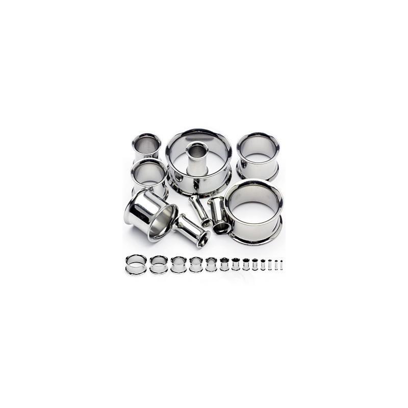 Piercing tunnel acier écarteur 6mm Sha Piercing oreille3,90€