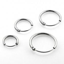 Faux piercing anneau 6mm plaqué argent Xaqop Faux piercing3,60€