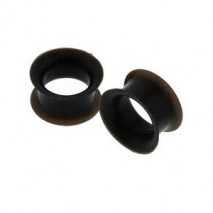 Piercing tunnel silicone noir 8mm Mahi Piercing oreille3,60 €