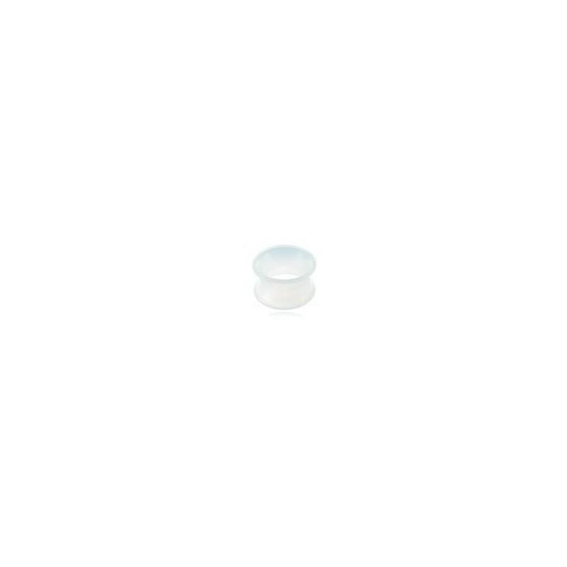 Piercing tunnel 4mm en silicone incolore Mok Piercing oreille3,60€