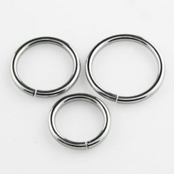 piercing anneau en acier 6 x 0 8mm ferm ciox 2 20. Black Bedroom Furniture Sets. Home Design Ideas