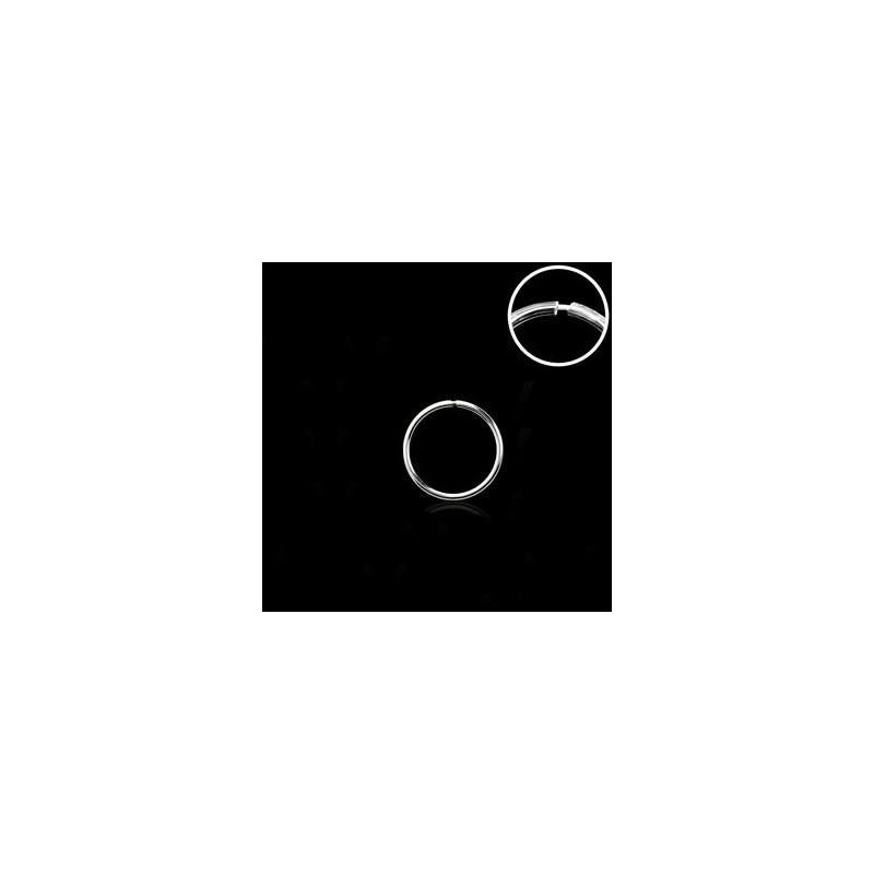 Piercing anneau 8mm plaqué argent Nax Piercing nez3,49€