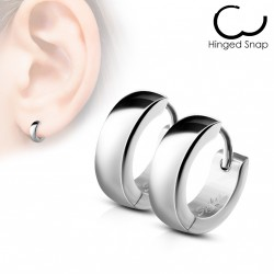 Boucle anneau oreille acier stainless stell Cyty