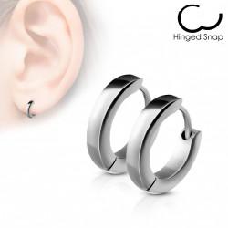Boucle anneau oreille acier stainless stell Waqaz ANN006