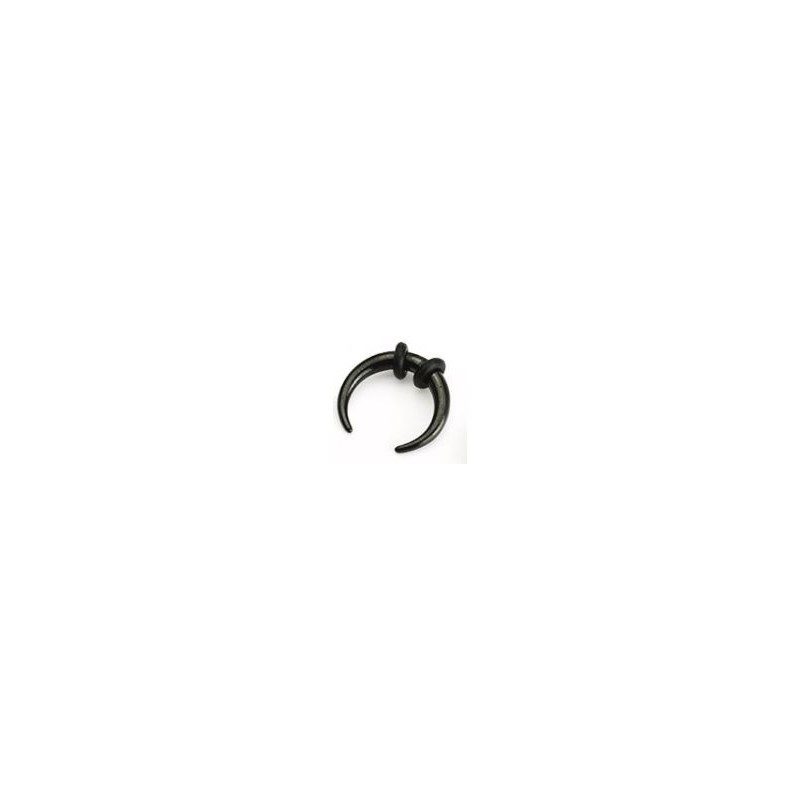 Piercing corne buffalo noir 3mm Yiong Piercing oreille5,49€