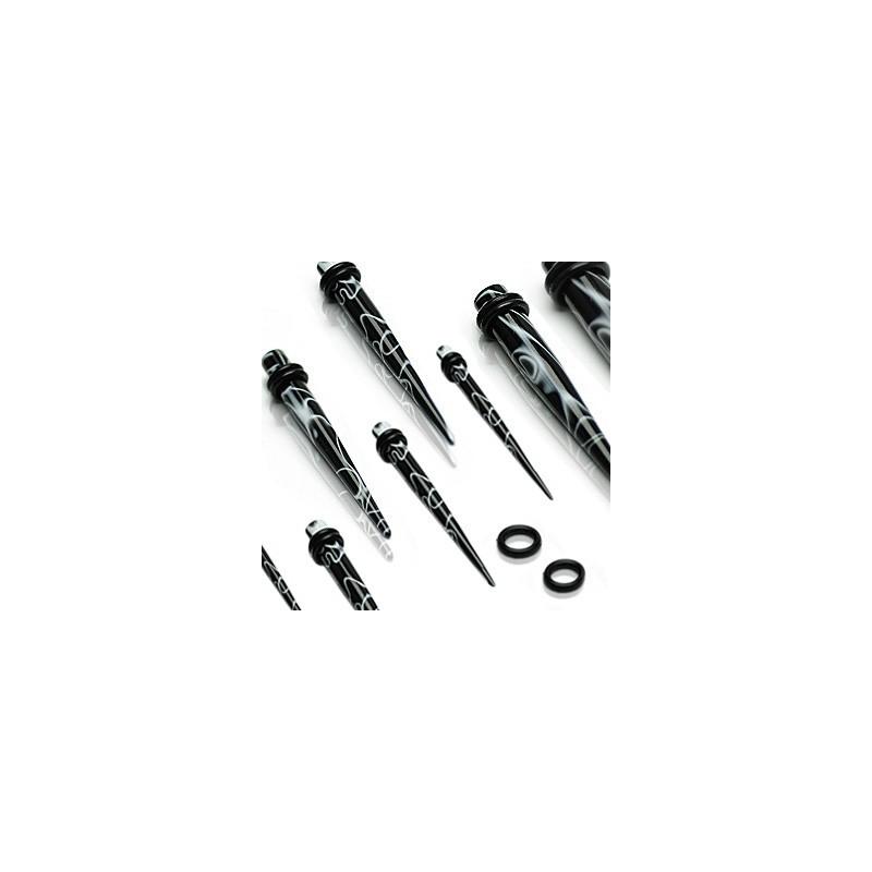 Piercing écarteur marbré 4mm Jancy Piercing oreille3,60€