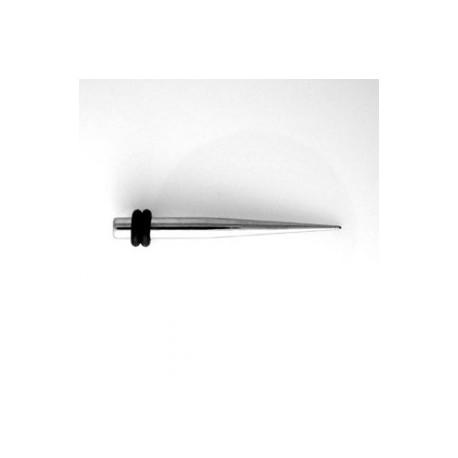 Piercing écarteur oreille acier 6mm Assa COR005