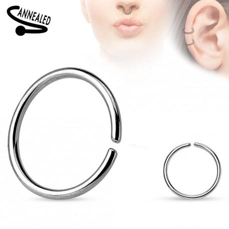 Piercing anneau 12 x 1,6mm fermé Chos ANN038