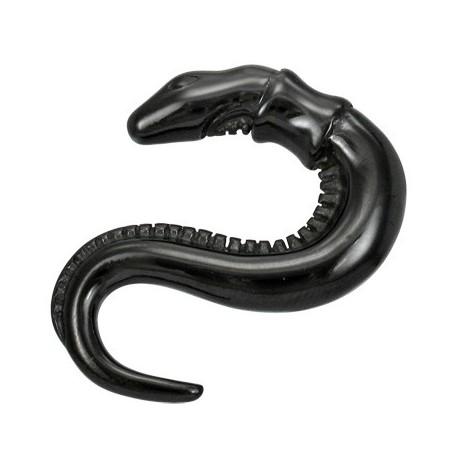Piercing corne serpent noir Wad