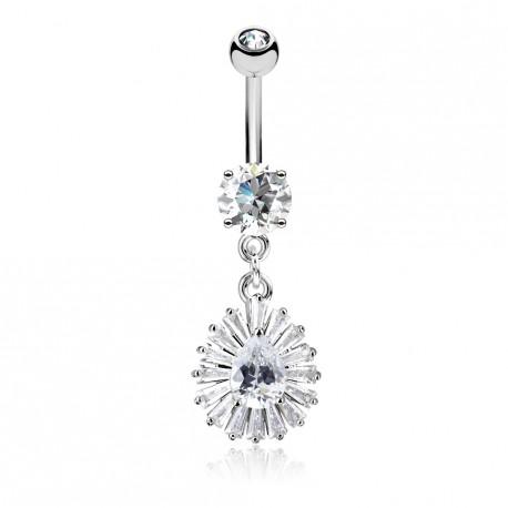 piercing anneau nombril