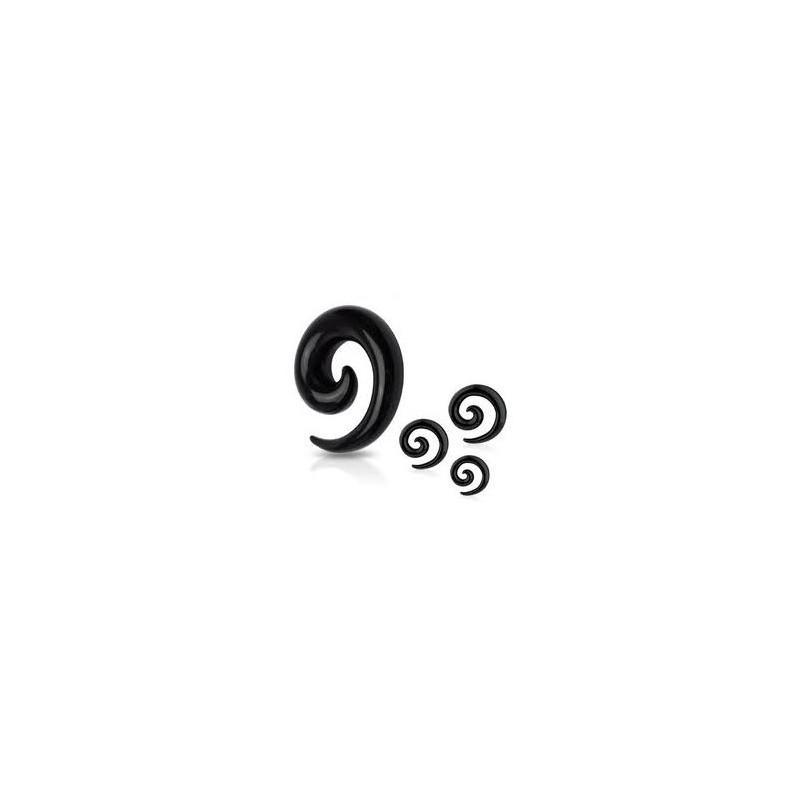 Piercing corne noire oreille 6mm Sirin Piercing oreille3,99€