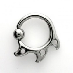 Piercing circulaire tribal 1,6mm Tasar COR024