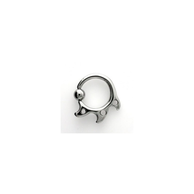 Piercing circulaire tribal 2,5mm Gnam Piercing oreille5,49 €