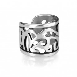 Faux anneau d'oreille avec filigrane Bazes FAU156