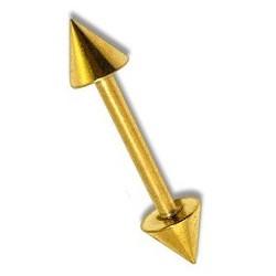Piercing arcade doré de 10mm droit Bapit Piercing arcade3,90€