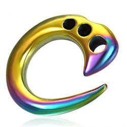 Piercing corne arc en ciel 4mm Pleng COR038