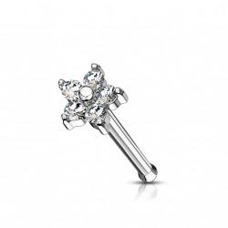 Piercing nez fleur avec pétales en zirconium Kiko NEZ158