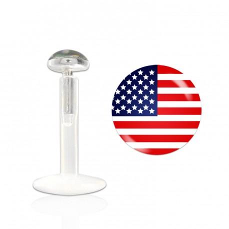 Piercing labret lévre U.S.A Kanda LAB006