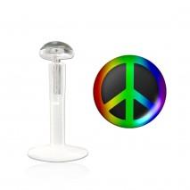Piercing labret lévre peace Kamala Piercing labret3,25€