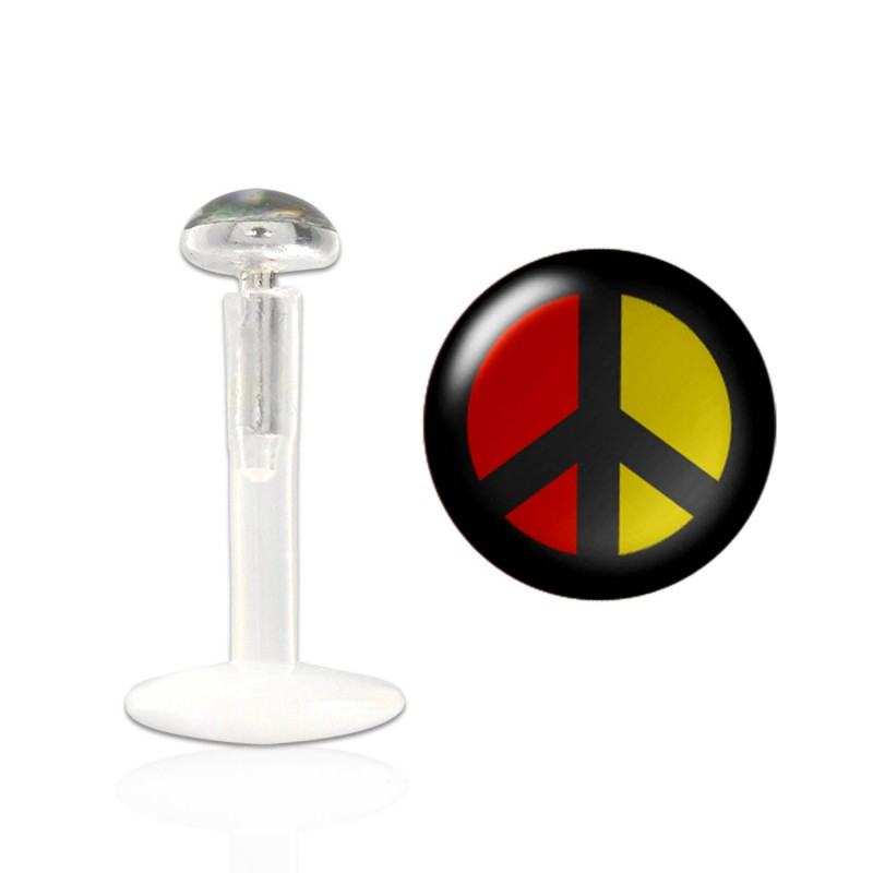 Piercing labret peace and love Sing Piercing labret3,25 €