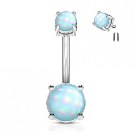 Piercing nombril en époxy bleu lumineux Caywo Piercing nombril5,30€