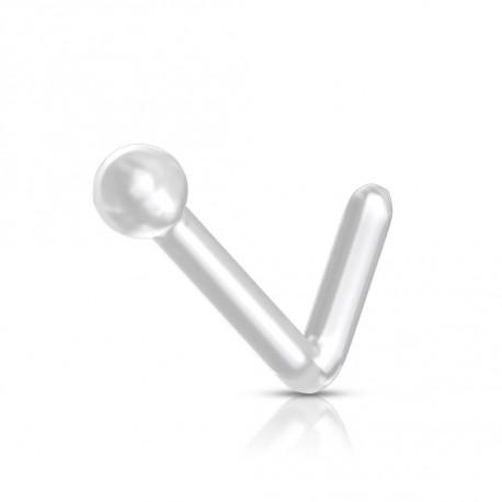 Piercing nez flexible avec une boule de 2mm Daquok Piercing nez1,80€