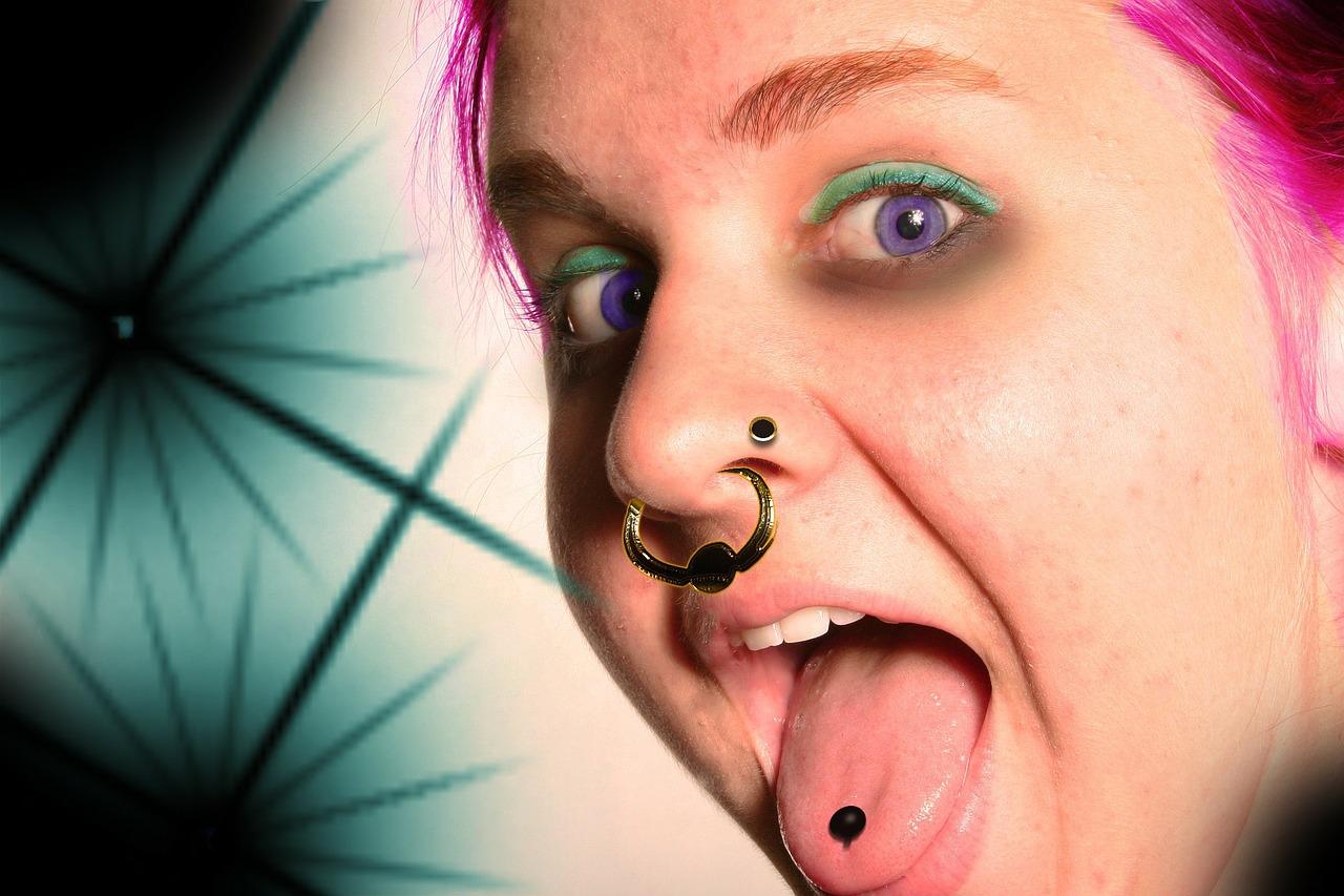 Piercing de la langue