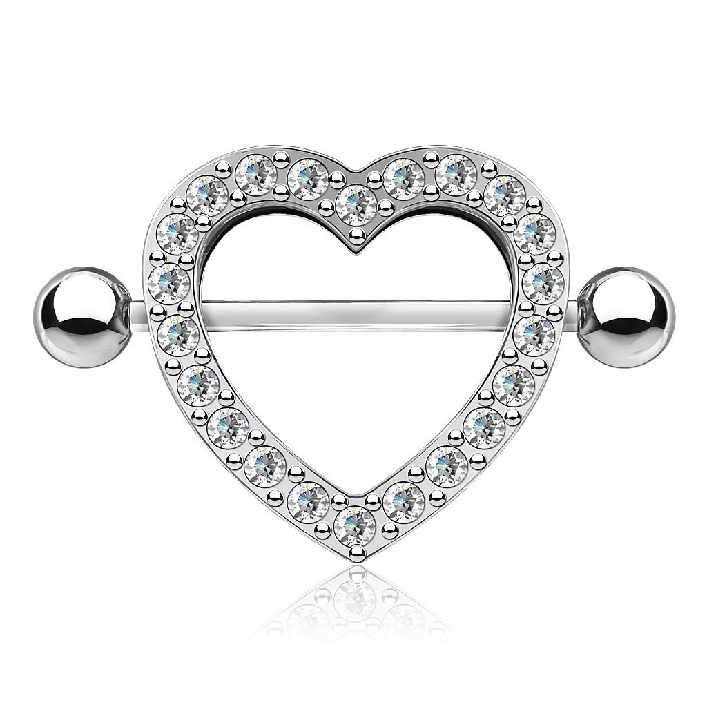 Piercings ou bijoux pour les seins
